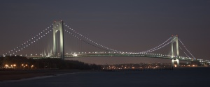 Verrazano Bridge at Night