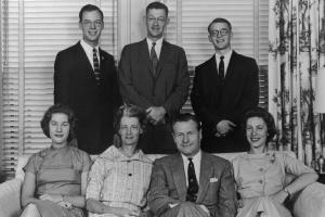 Nelson Rockefeller Family