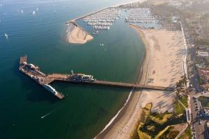 A Wharf in California