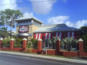 T.G.I Friday's Restaurant in Christ Church, Barbados.