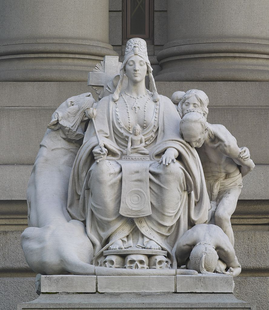 US Customs House Sculpture